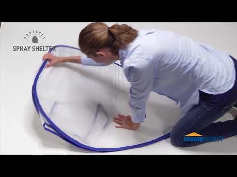 How to Fold a Spray Shelter Video
