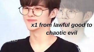 x1 from lawful good to chaotic evil