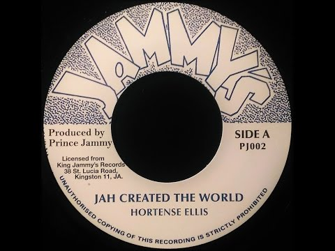 HORTENSE ELLIS – Jah Create The World [c.1980]