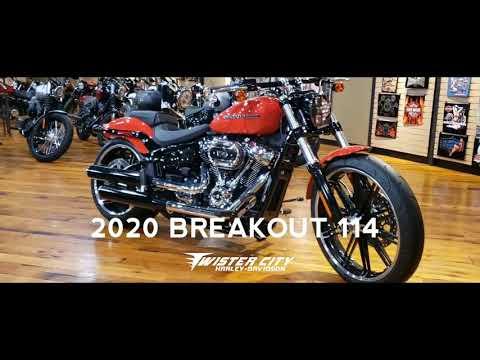 2020 Harley-Davidson® Breakout® 114 : FXBRS