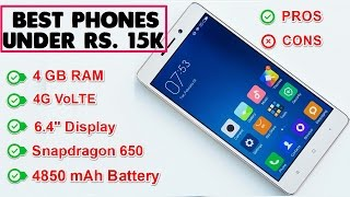 Best Smartphones Under Rs 15000  New Updated