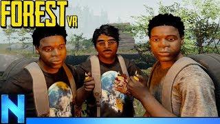 Hilarious VR Coop Survival Adventure Begins! - FOREST VR