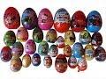 30 Surprise Eggs, Maxi Kinder, Maxi Spiderman, Maxi Cars, Shrek, Thomas ...