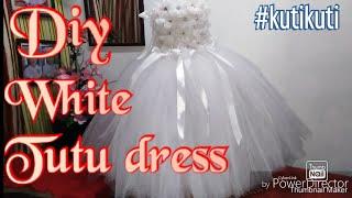 Diy Tutu Dress For Special Occasion Birthday, Flower Girl, Christening