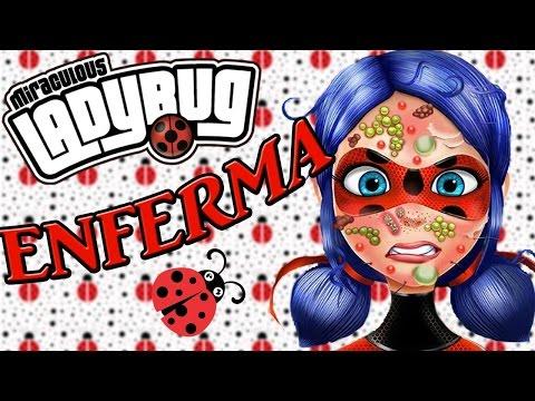 LadyBug ENFERMA !! // PRODIGIOSA : Las aventuras de LadyBug //  JUEGOS // SULIIN18YT