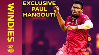 Lockdown Living with Keemo Paul | Playing with your heroes & being an all-rounder! | Windies