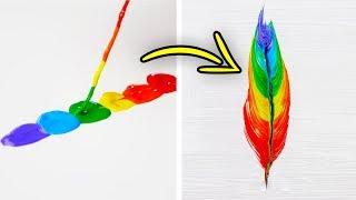 32 SIMPLE YET BRILLIANT ART IDEAS