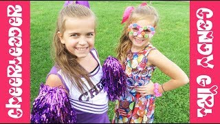 Cheerleader And Candy Girl Halloween Costumes!!   Crazy8Family
