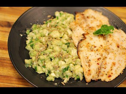 Keto Tilapia and Cauliflower Salad – healthy recipe channel – keto recipe – dinner nutrition – keto