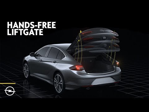 Opel Features: Hands-Free Liftgate