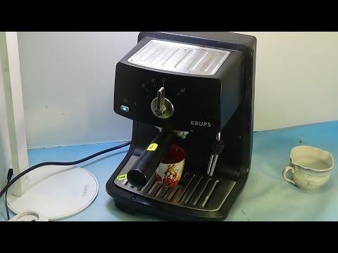 Ремонт кофеварки Krups XP4000 постоянно работает помпа