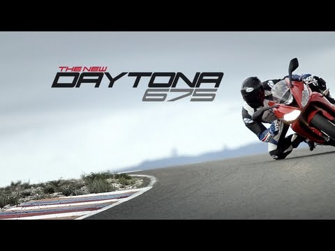 2013 Triumph Daytona 675 and 675 R official video