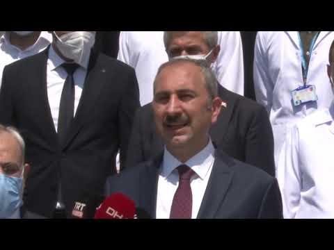 Adalet Bakanı Gül, Gaziantep Adli Tıp Grup Başkanlığının açılışını gerçekleştirdi