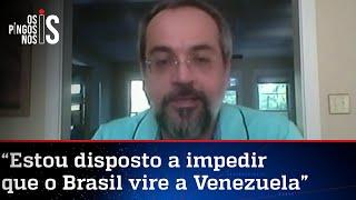 Exclusivo: Abraham Weintraub rebate denúncia do MPF e fala sobre o mecanismo