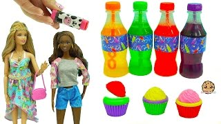 Color Changing Lip Balm? Barbie Doll Clothing, Disney Crafts - Dollar Tree Haul Video