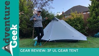 LIGHTWEIGHT BACKPACKING TENT | 3FUL GEAR LANSHAN 2 | CAMINO INGLES CAMPING