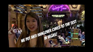 Drinking Vlog: we put hangover cures to the test in Vegas!