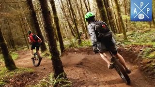 The InsaneSport Of Mountain Unicycling