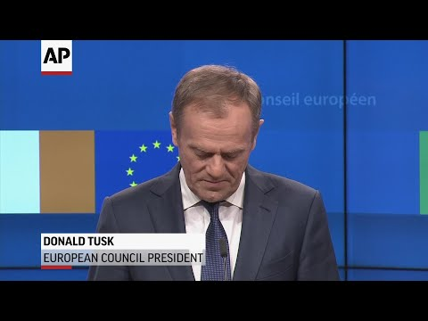 European Council President Donald Tusk blasted British politicians in Brussels Wednesday, saying there's a 'special place in hell' for those who lobbied for the UK to leave the European Union without considering a plan for how to do it. (Feb. 6)