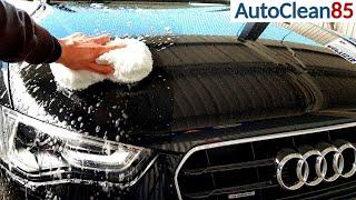 TOP Waschhandschuh Alternative / Premium Waschschwamm - Aurum Performance / Auto schonend waschen