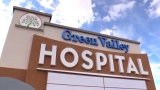 Green Valley Hospital Provides Outpatient Services