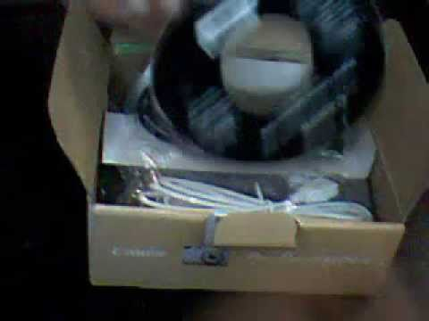Canon PowerShot A3200 IS Unboxing