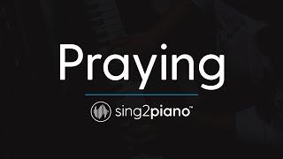 Praying [Piano Karaoke Instrumental] Kesha