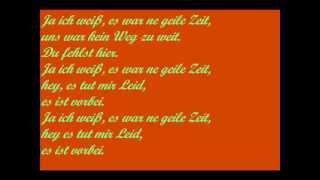 Juli-Geile Zeit - lyrics