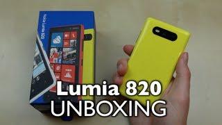 Unboxing: Nokia Lumia 820   SwagTab