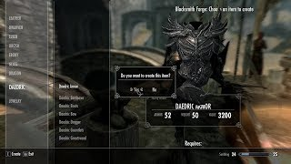Skyrim Nintendo Switch Easy Smithing Materials/Money
