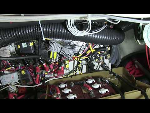 PYS Electrical Audit aboard S/Y Corra Jane: Battery Charger & Switches