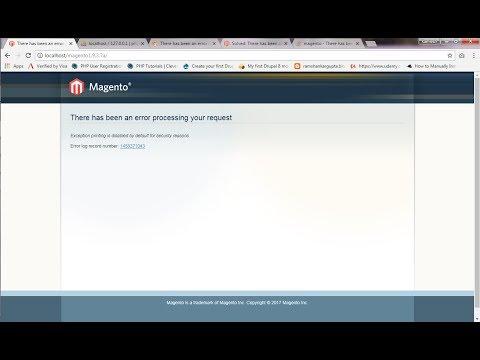 How to fix Magento Error log record