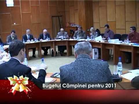Bugetul Câmpinei pentru 2011