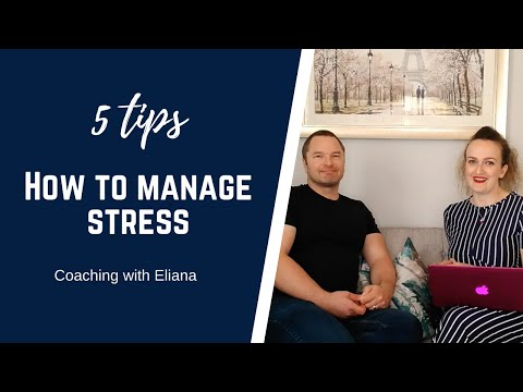 5 tips on how to manage stress