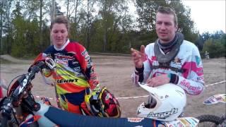 WM-Fahrerin beim MC Neustadt/Orla