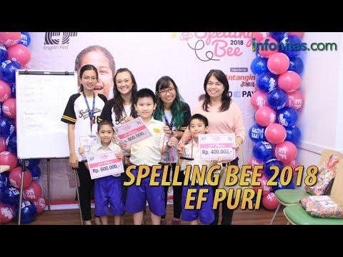 Tampil Gemilang di Spelling Bee 2018 EF Puri