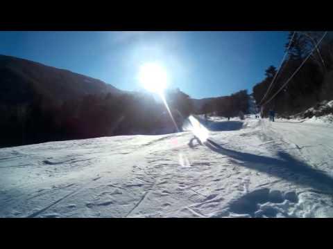 Видео: Видео горнолыжного курорта Грибановка (Анисимовка) в Приморский край