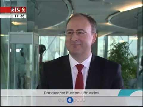 "Entrevista a José Manuel Fernandes - Programa ""Europeus"" SICNotícias"