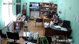 IP-камера видеонаблюдения уличная купольная Hikvision DS-2CD2532F-IS (2,8 мм)