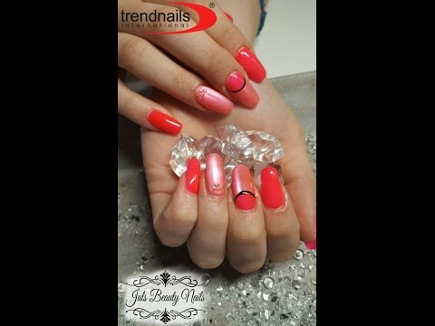 Studio Summer Nails - Neon Cocktail Colours - Cats Eye Nailart 2016 - Gel Modellage