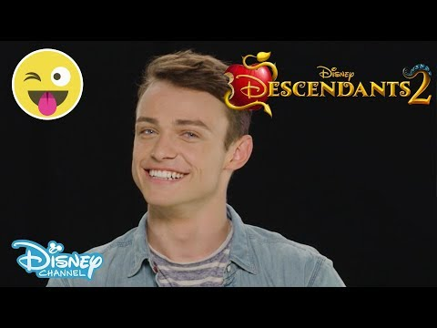 Descendants 2   Who Said That? ft Thomas Doherty 😂   Disney Channel UK