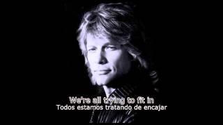 Bon Jovi - We All Fall Down (Subtítulos Inglés - Español)