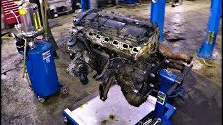 BMW E39 Собираем мотор М54 ПЕРЕБОРКА !