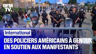 Pourquoi des policiers américains posent-ils un genou à terre en soutien aux manifestants ?