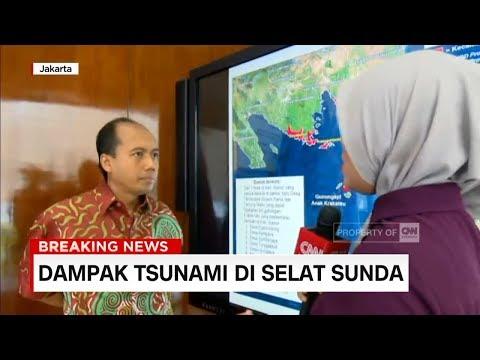 Dampak Tsunami di Selat Sunda