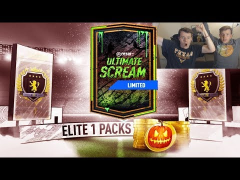 OUR ELITE 1 SQUAD BATTLES REWARDS!! 😱🎃- FIFA 20 Ultimate Scream Pack Opening RTG