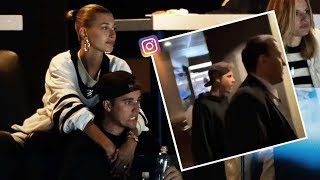 Justin Bieber Gets Screamed At After Maple Leafs Get Mulched in NHL Playoffs