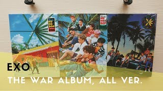 Download Video [UNBOXING] EXO - 4th Album 'The War' (All Versions) MP3 3GP MP4