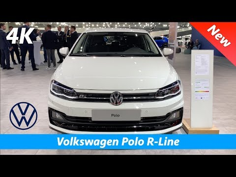Volkswagen Polo R-Line 2020 - First quick look in 4K