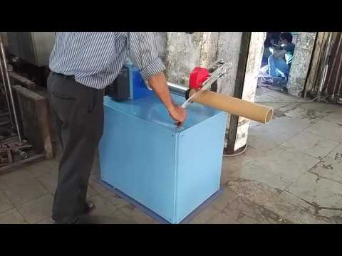 Manual Paper Core Cutting Machine